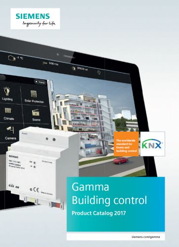 gamma td knx product database building technologies. Black Bedroom Furniture Sets. Home Design Ideas